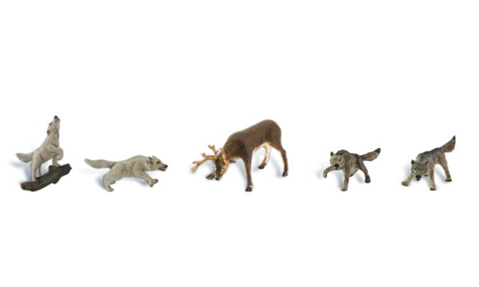 Scenic Accents - Wildlife Standoff - HO Scale