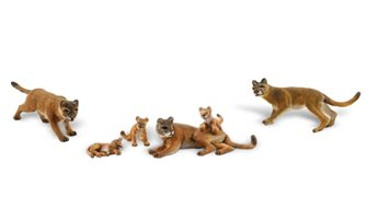 Scenic Accents - Cougars and Cubs - HO Scale