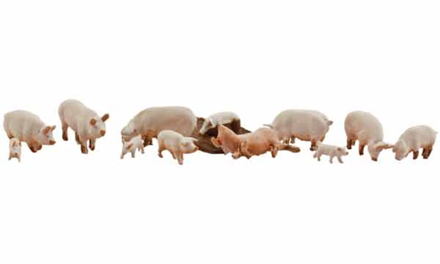 Scenic Accents - Yorkshire Pigs - HO Scale