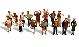 Scenic Accents - 16 People - HO Scale