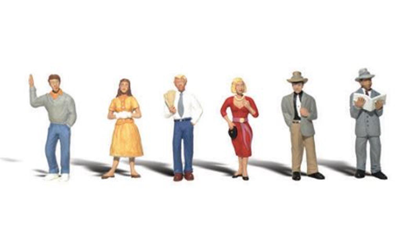 Woodland Scenics WA2121 N Gauge Figures - Pedestrians