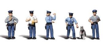 Woodland Scenics WA2122 N Gauge Figures - Policemen