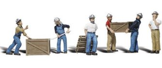 Woodland Scenics WA2123 N Gauge Figures - Dock Workers