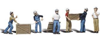 Woodland Scenics WA2123 N Gauge Figures - Dock Workers