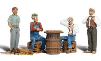 Woodland Scenics WA2132 N Gauge Figures - Checker Players