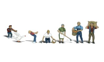 Woodland Scenics WA2152 N Gauge Figures - Farm People