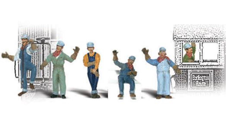 Woodland Scenics WA2153 N Gauge Figures - Engineers