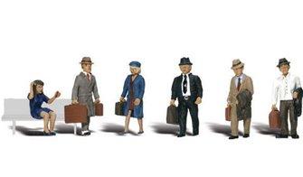 Woodland Scenics WA2155 N Gauge Figures - Travelers