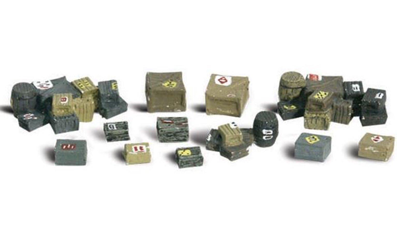 Woodland Scenics WA2162 N Gauge Figures - Assorted Crates