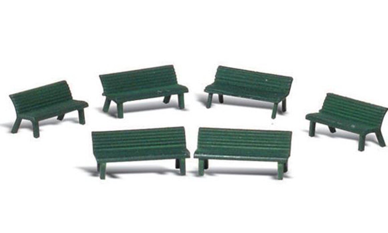 Woodland Scenics WA2181 N Gauge Figures - Park Benches