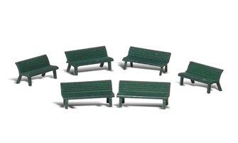 Woodland Scenics - O Gauge Park Benches