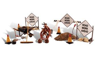 Woodland Scenics - O Gauge Scale Road Crew Details