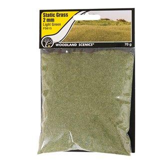 2mm Static Grass Light Green