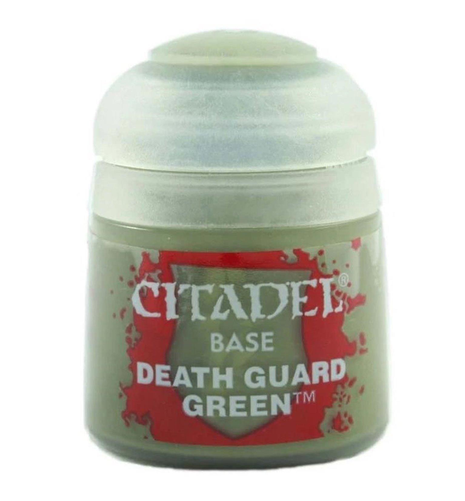 CITADEL BASE Death Guard Green PAINT POT