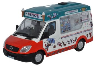 Oxford Diecast WM005 Whitby Mondial lce Cream Vinces Ice