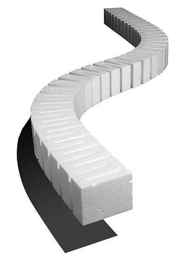 3/4 Inch Riser (4 Pieces) Step 1