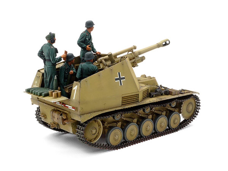 "1/35 Military Miniature Series No.358 German Self-Propelled Howitzer Wespe ""Italian Front"""