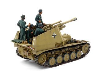 "1/35 Military Miniature Series No.358 German Self-Propelled Howitzer Wespe ""Italian Front"""