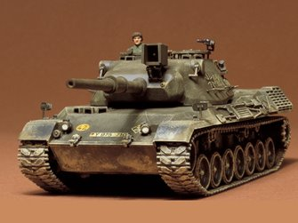 1/35 Military Miniature Series no.64 West German Leopard