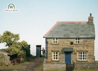 Farm Cottage Scene Craftsmans Kit