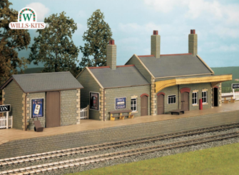 Country Station, stone built Craftsmans Kit