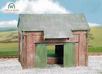 Goods Shed, brick type Craftsmans Kit