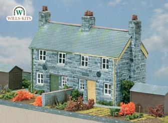 Semi-detached Stone Cottages Craftsmans Kit