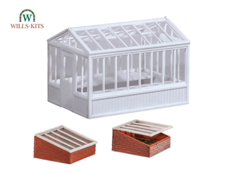 Greenhouse & Cold Frames, inc. glazing material Kit