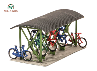 Bicycle Shed & Bicycles Kit