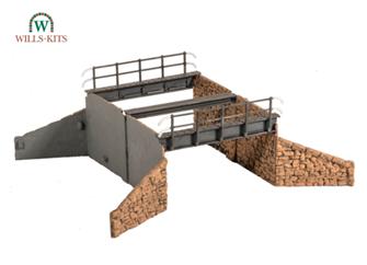 Occupational Bridge & Stone Abutments, double track kit