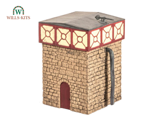 Water Tower & Stone Base