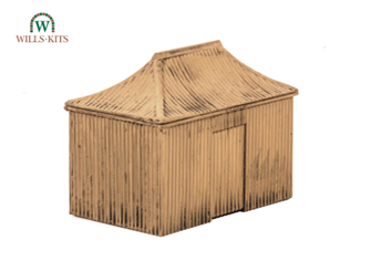 Pagoda Building, Corrugated Iron type hut kit