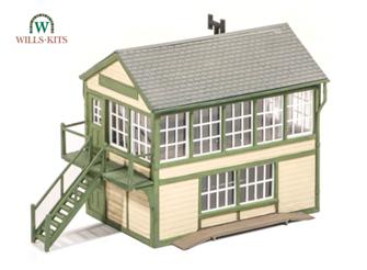 Timber Signal Box Kit