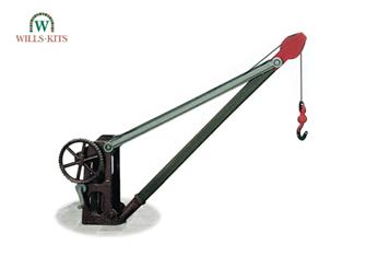 Goods Yard Crane, with fixed timber jib