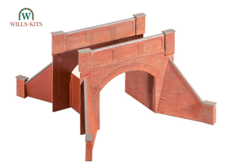 Brick Arch Bridge, complete with abutments