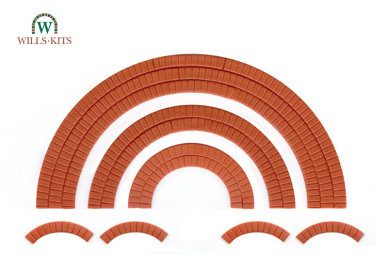 Brick Arch Overlays, for doorways, windows etc.