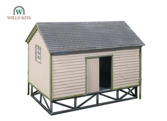 Goods Yard Store, timber built type kit