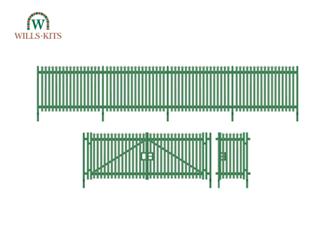 Wills Modern SSM316 Modern Palisade Fencing & Gates
