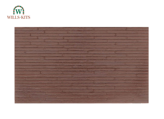 Wood Planking injection moulded plastic sheets (4 Sheets)