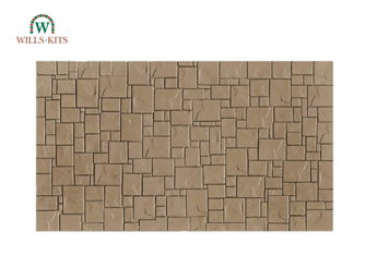 York Stone Paving -  injection moulded plastic sheets (4 Sheets)