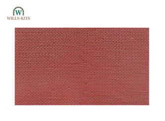 Brickwork, plain bond -  injection moulded plastic sheets (4 Sheets)