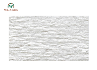 Limewashed Stone -  injection moulded plastic sheets (4 Sheets)