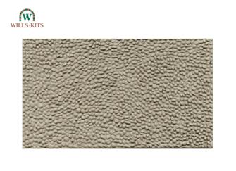 Cobblestones -  injection moulded plastic sheets (4 Sheets)