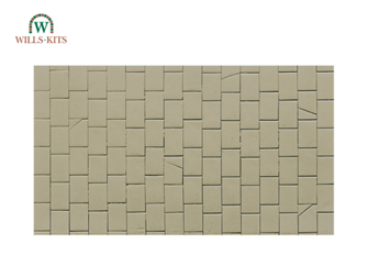 Victoria Stone Paving -  injection moulded plastic sheets (4 Sheets)