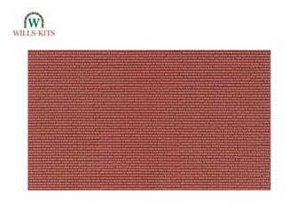Brickwork, Flemish Bond -  injection moulded plastic sheets (4 Sheets)