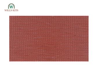 Brickwork, English Bond -  injection moulded plastic sheets (4 Sheets)