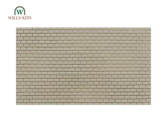 Concrete Blocks -  injection moulded plastic sheets (4 Sheets)
