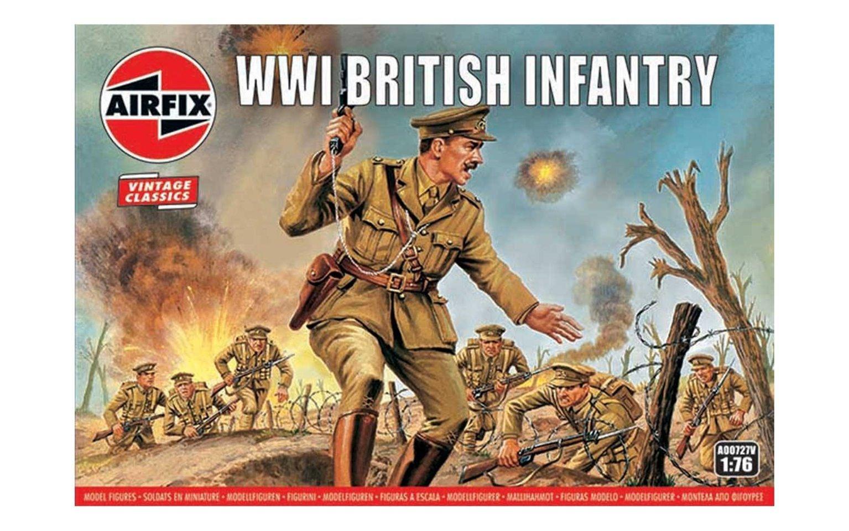 Airfix Vintage Classics - WWI British Infantry 1:76