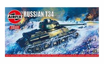 Airfix Vintage Classics - Russian T34 Medium Tank 1:76
