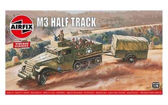 Airfix Vintage Classics - M3 Half Track & 1 Ton Trailer 1:76